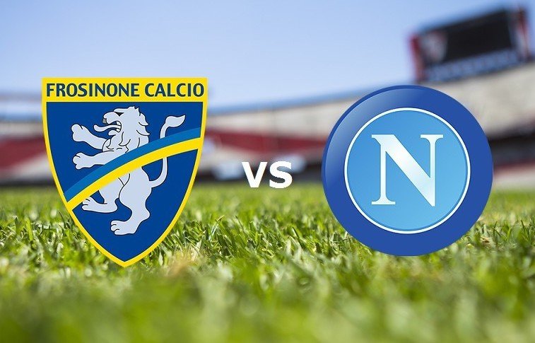 Frosinone Napoli streaming gratis live.