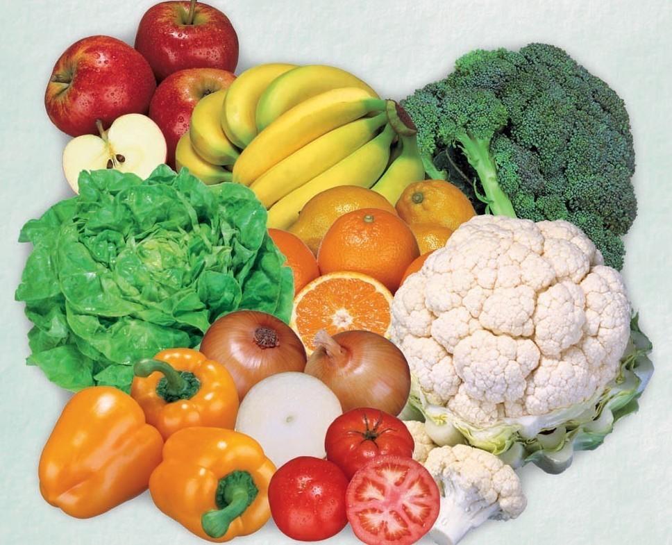 Frutta e verdura di stagione contro fred