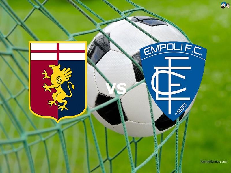 Genoa Empoli streaming live gratis migli
