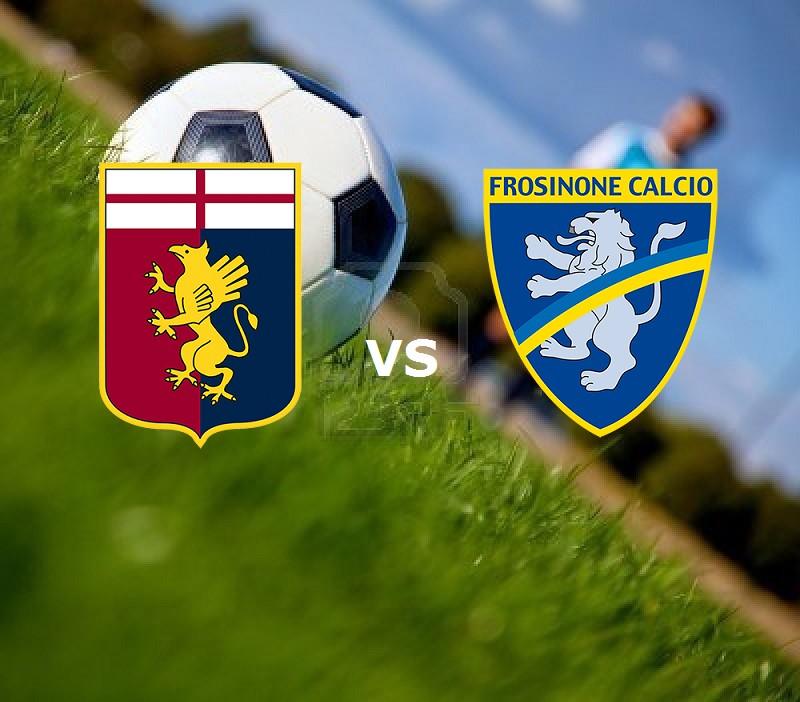 Genoa Frosinone streaming gratis live di