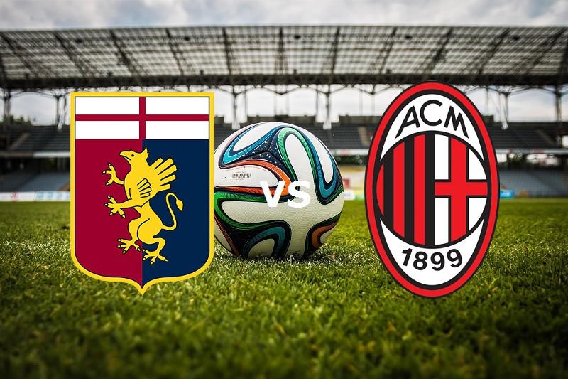 Genoa Milan streaming gratis live. Dove