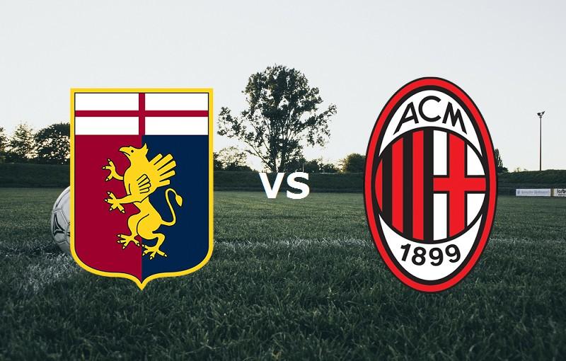 Genoa Milan streaming gratis live per ve