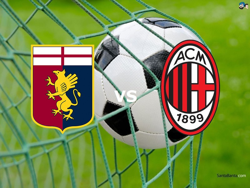 Genoa Milan streaming gratis live miglio