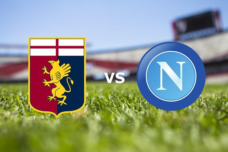 Genoa Napoli streaming. Vedere gratis li