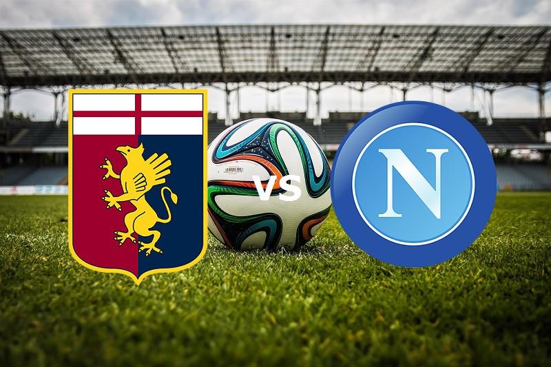 Napoli Genoa streaming gratis diretta li