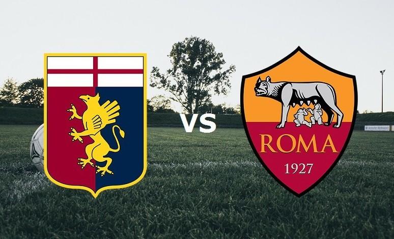 Genoa Roma streaming live gratis. Vedere