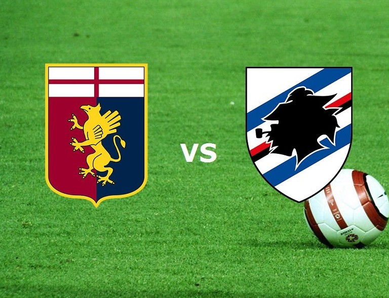 Genoa Sampdoria streaming live gratis di
