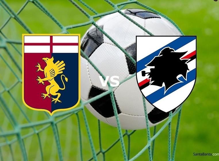 Genoa Sampdoria streaming gratis live li