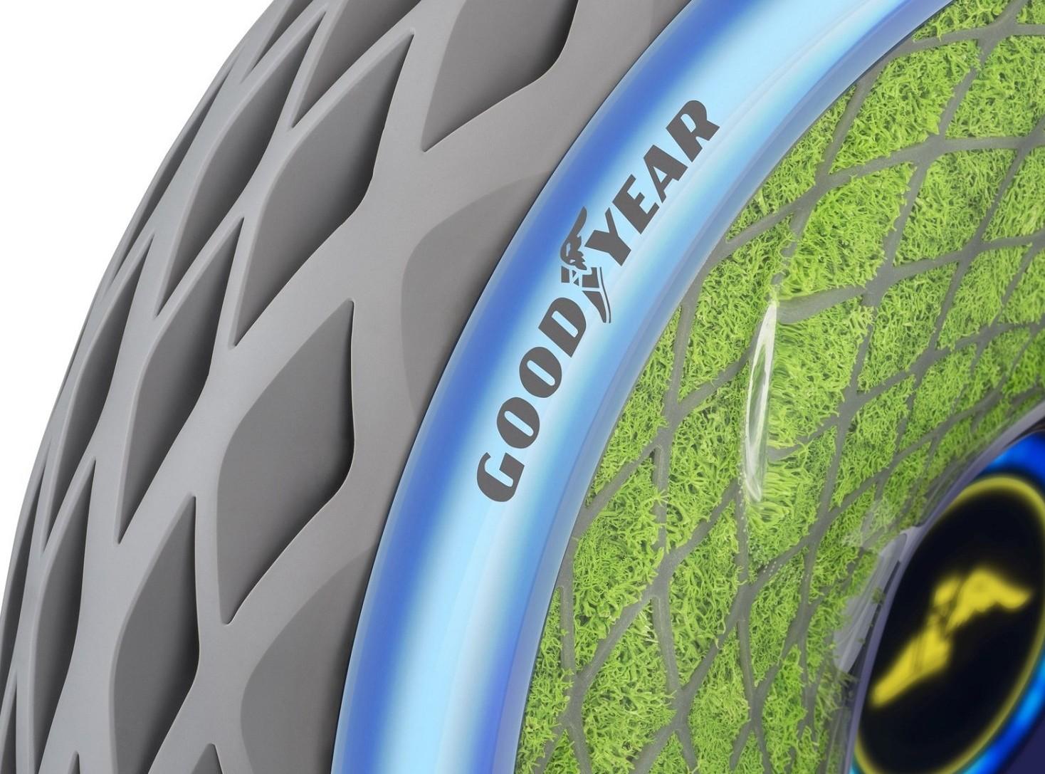 Goodyear presenta Oxygene la gomma viva