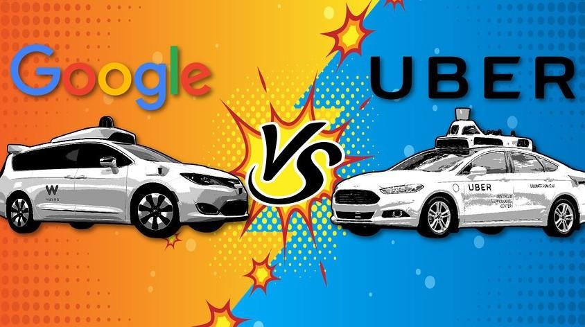 Google affronta Uber nella causa dell&#3