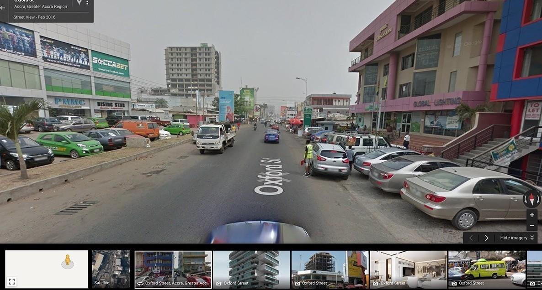Google Street View indica chi si sceglie