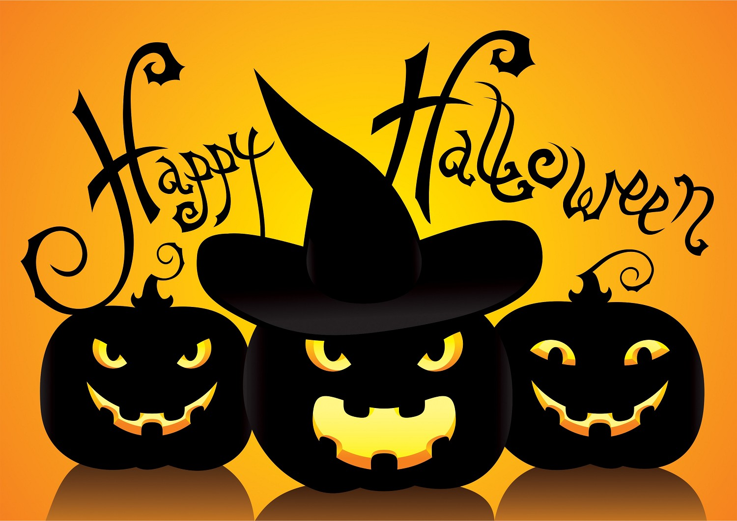 Halloween su Facebook, Whatsapp, sms, em