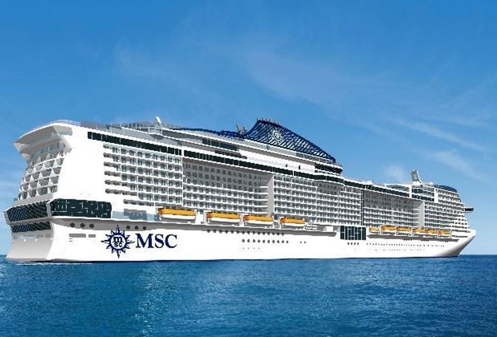 Honduras, MSC Armonia nel porto di Roata