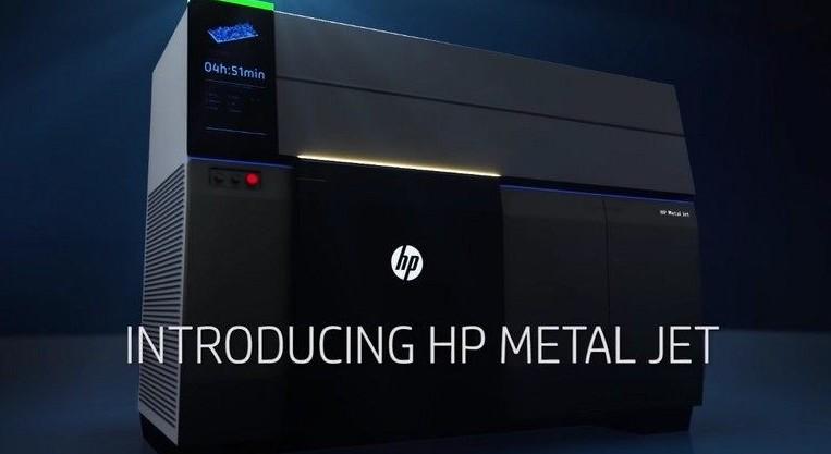 Hp stampante 3d che trasforma il metallo