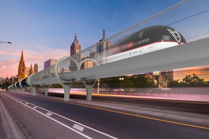 Hyperloop, treno supersonico in Usa è an