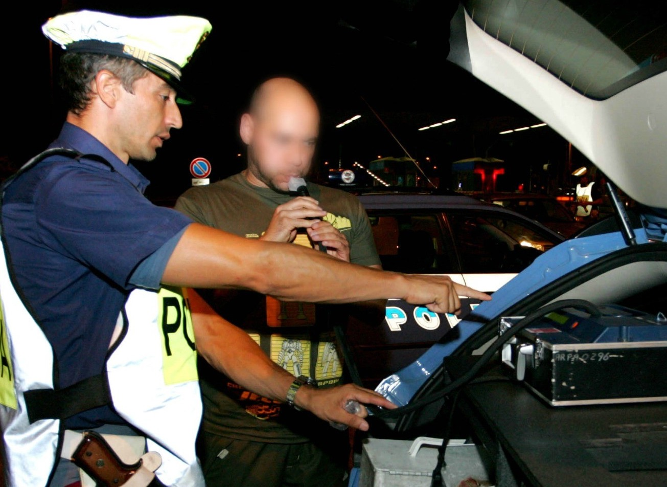 Etilometro, diritti guidatore fermato e
