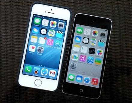 iOS 8 iPhone 5S, iPhone 4S, iPhone 5, iP