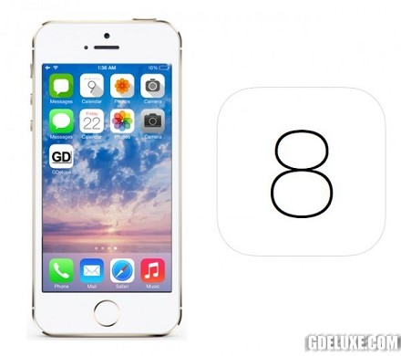 iOS 8 iPhone 4S, iPhone 5S, iPhone 5C, i