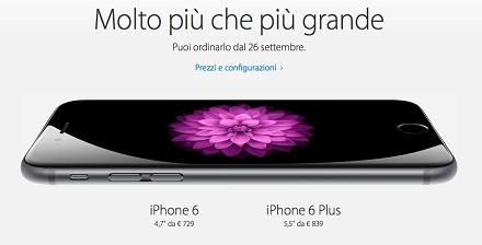 iPhone 6: dove comprare, quando, quali n
