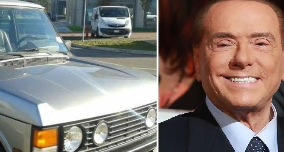 L'ex Range Rover avuto da Berlusconi
