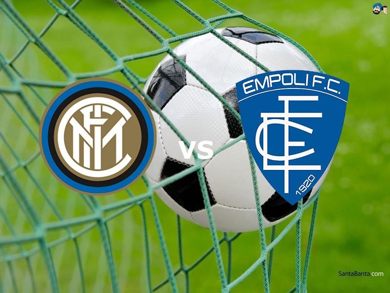Inter Empoli streaming live gratis diret