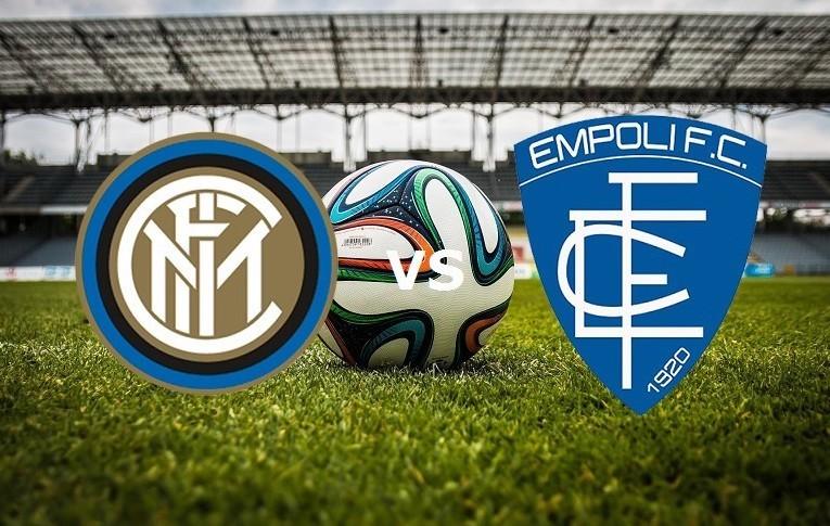 Inter Empoli streaming live gratis per v