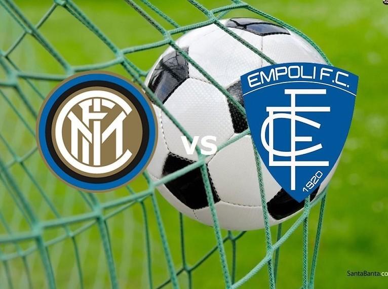 Inter Empoli streaming su siti web, link