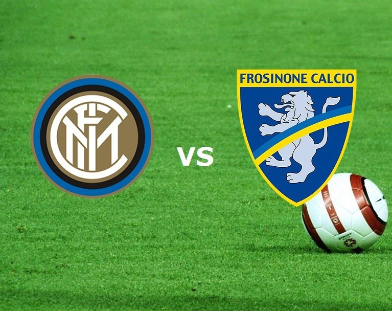 Inter Frosinone streaming su link, siti