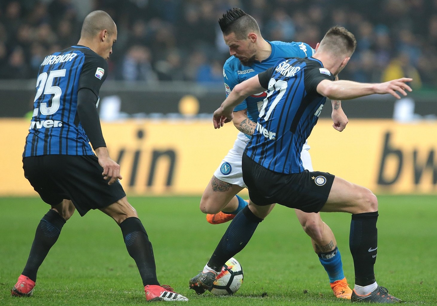 Inter Napoli streaming live gratis parti