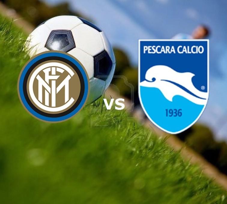 Inter Pescara streaming live gratis per