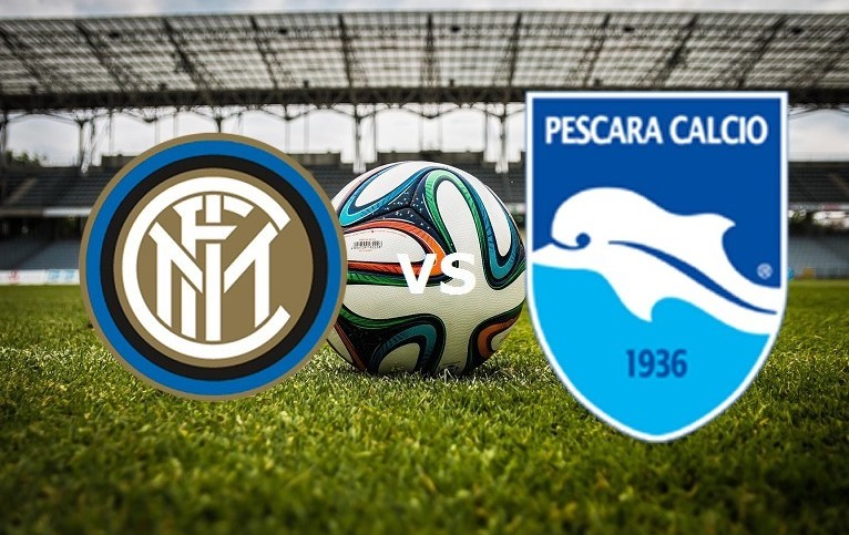 Inter Pescara streaming live gratis su l