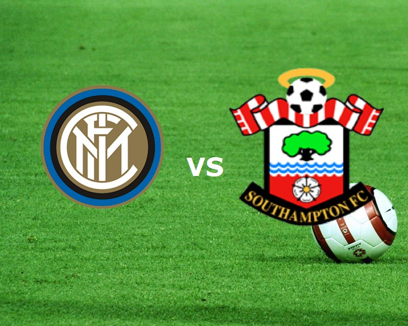 Inter Southampton streaming gratis live.