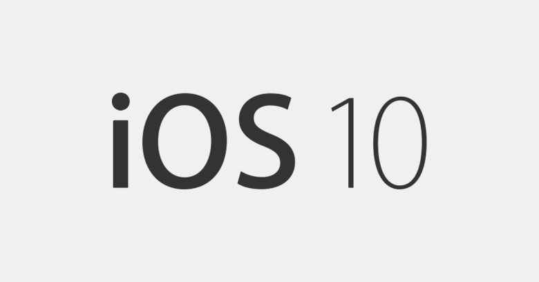 iOS 10: prova versione finale in uscita