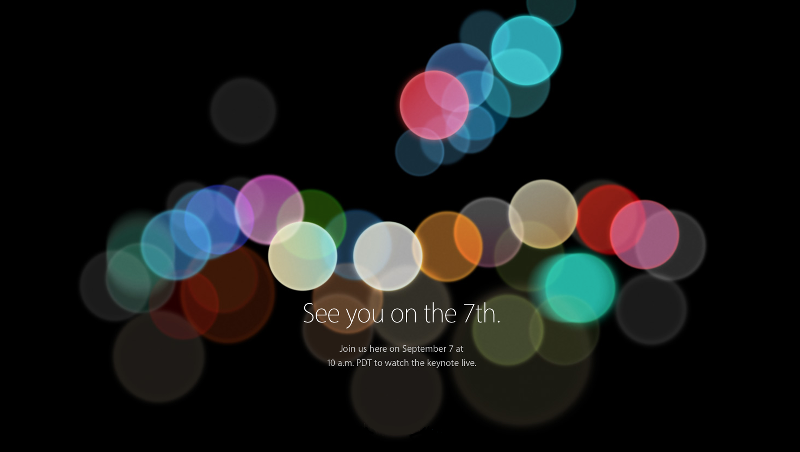 iPhone 7: uscita evento Apple oggi tre m