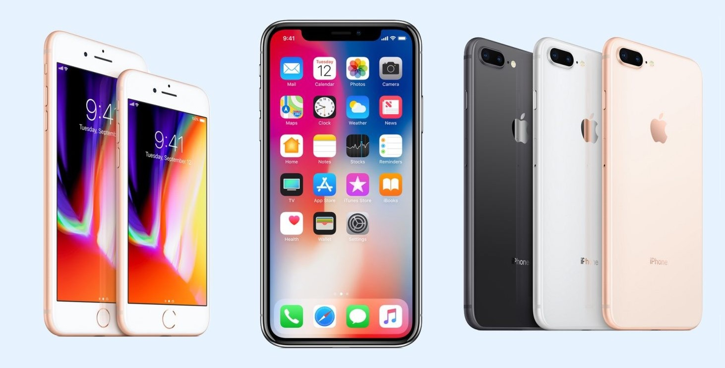 iPhone X, iPhone 8 Plus, iPhone 8: prezz
