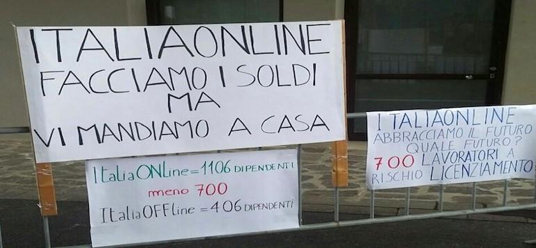 Italiaonline, centinaia di dipendenti a