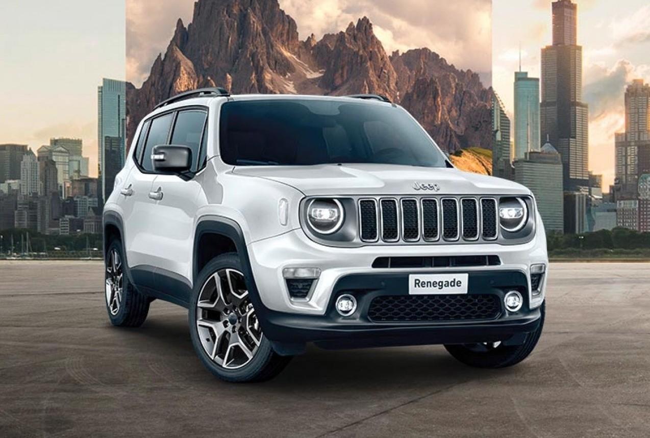 Jeep Renegade 2020 uscita all'estero. Ec