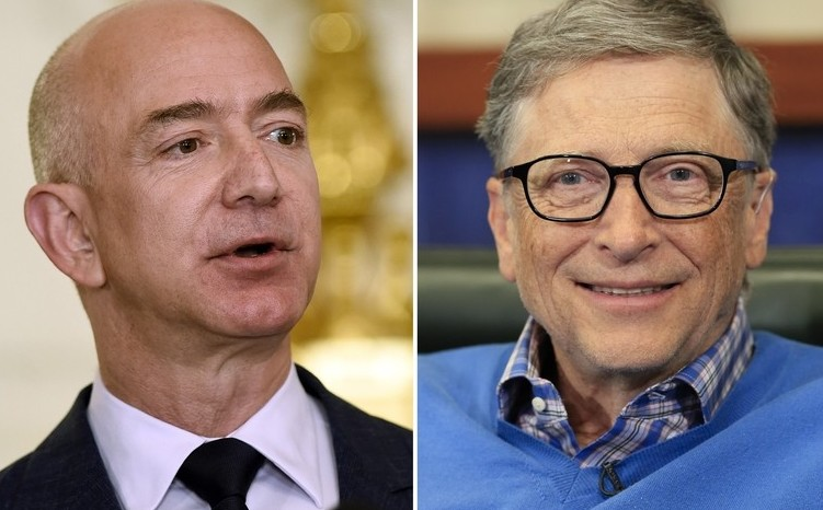 Jeff Bezos Bill Gates And Michael Bloomberg Together For A