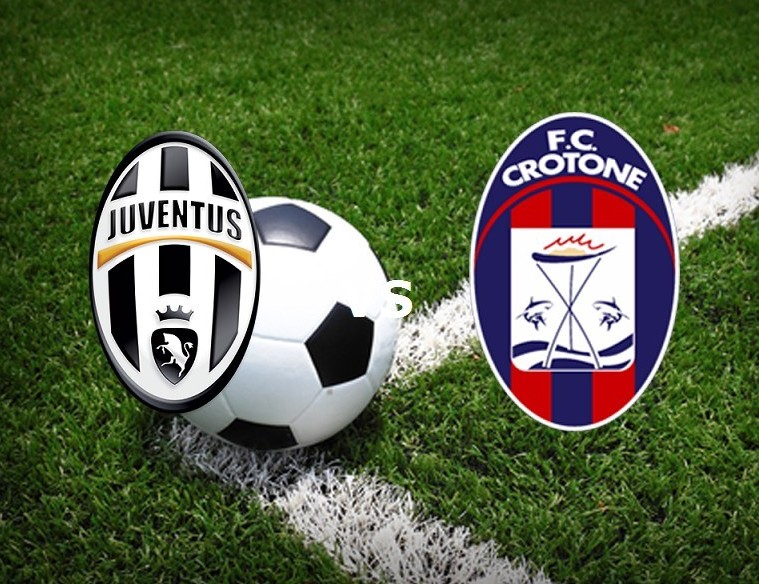 Juventus Crotone streaming live. Vedere