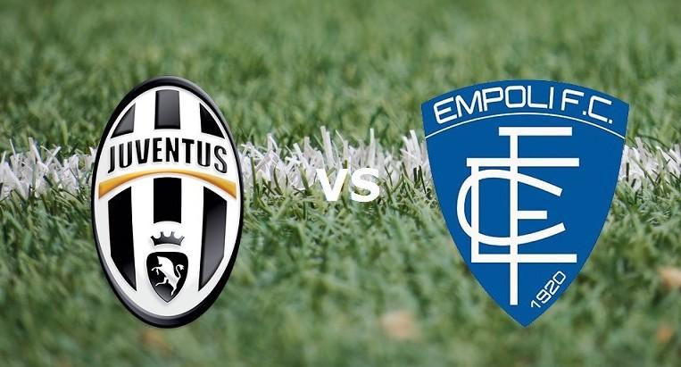 Juventus Empoli streaming gratis live pe