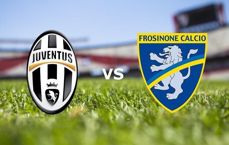 Juventus Frosinone streaming live gratis