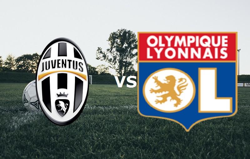 Juventus Lione streaming in chiaro diret