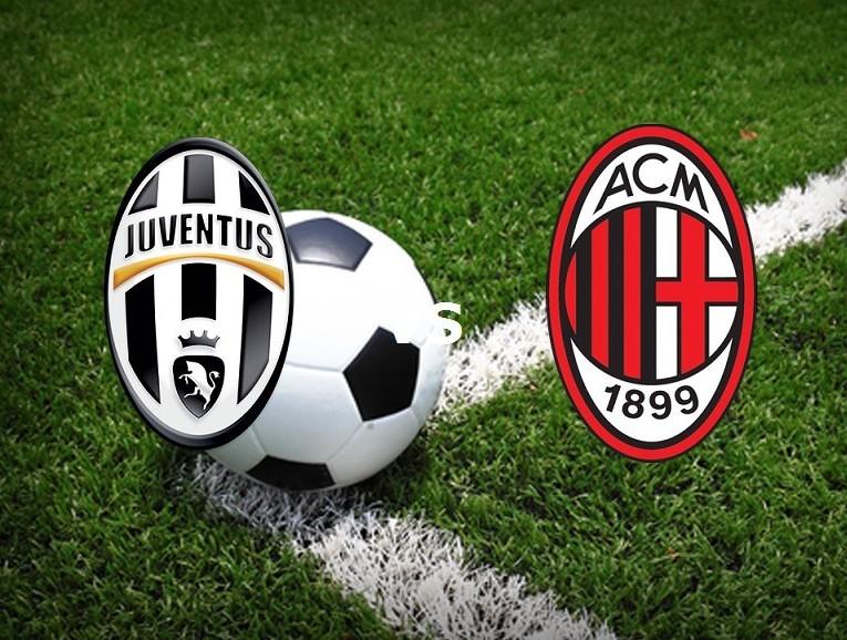 Juventus Milan streaming. Dove vedere li