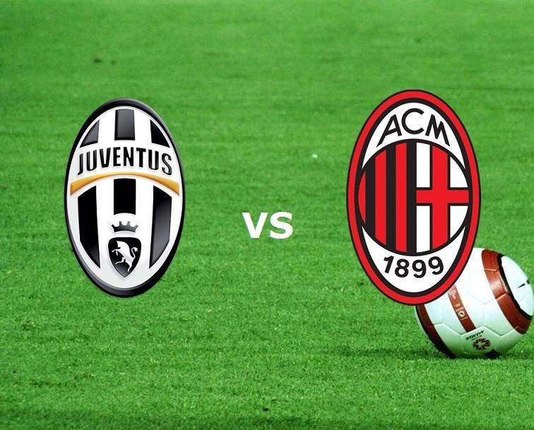 Juventus Milan streaming live su link. V