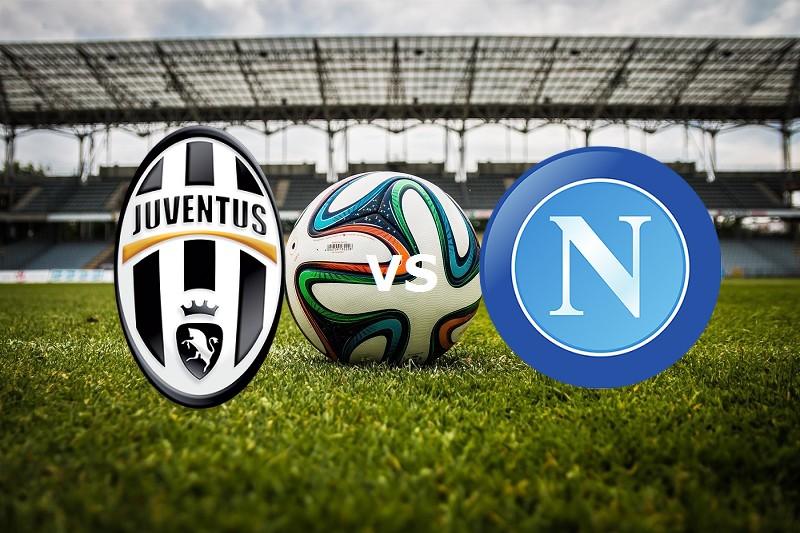 Juventus Napoli streaming gratis. Dove v