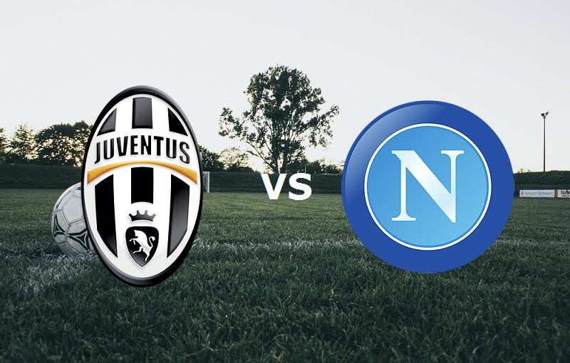 Juventus Napoli streaming. Vedere su lin