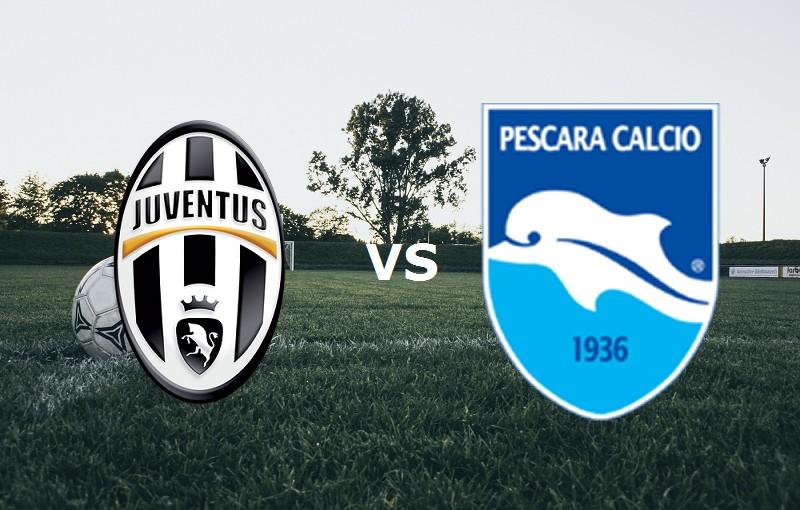 Juventus Pescara streaming live gratis p