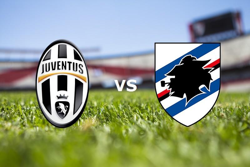Juventus Sampdoria streaming. Dove veder
