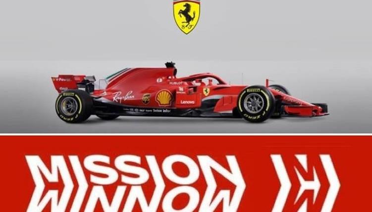Ferrari nuova livrea Mission Winnow per