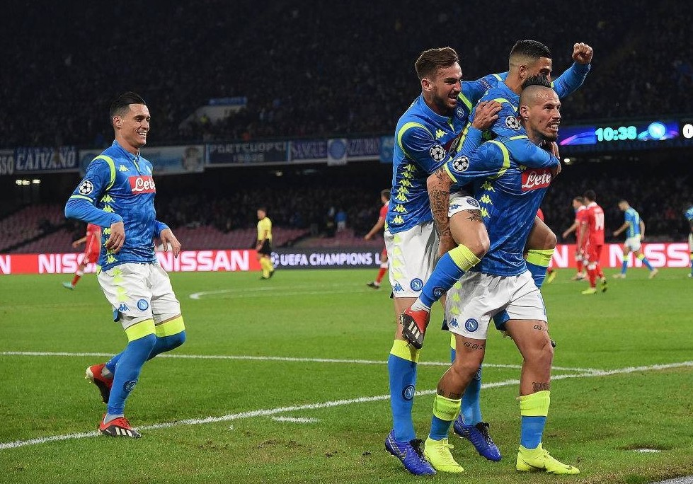 Liverpool Napoli streaming gratis adesso